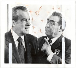 David Birkin - Iconographies, Nixon-Brezhnev (2013)